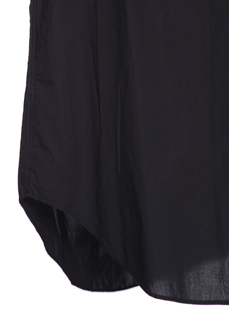 COTTON TYPEWRITER CLOTH SEAMED SHIRT