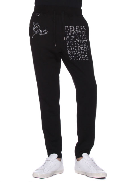 x ONEMADE MESSAGE JEARSY PANTS