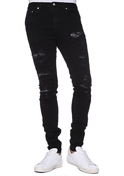 CRYSTAL DESTROY STRETCH BLACK