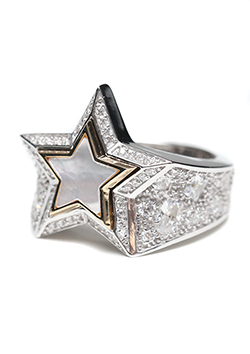 STARDUST STAR RING