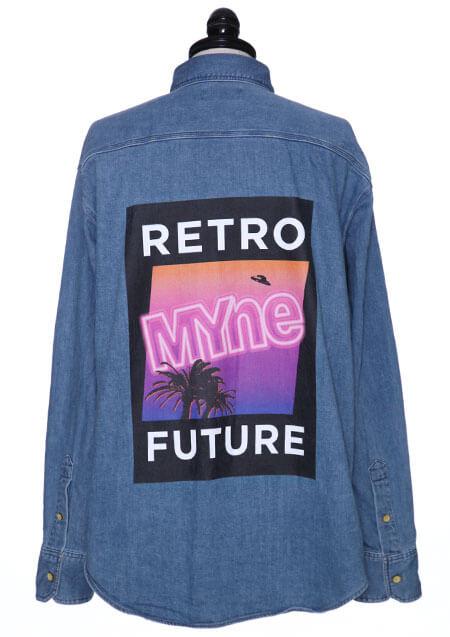 RETRO FUTURE DENIM SHIRT