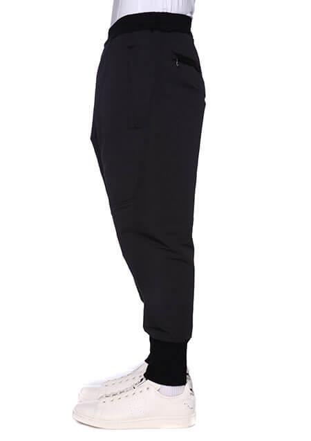 PL/CO GROSGRAIN MILITARY LEG POCKET CROPPED PANTS