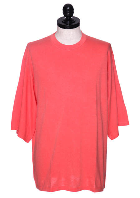 OVERDYED HAPPI SLEEVE T-SHIRT