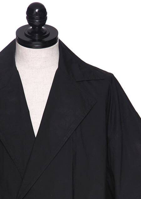 COTTON TYPEWRITER CLOTH OPEN COLLAR BOX SHIRT