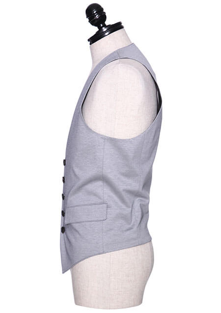 COMPACT COTTON JERSEY GILLET