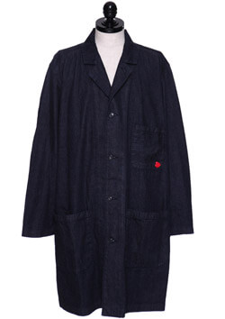 DENIM SHOP COAT