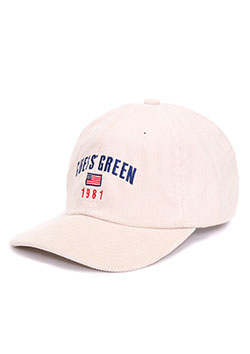 GUESS GREEN 1981 CORDUROY CAP