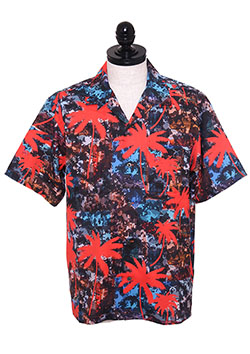 PALM TREE TRANSFER OPEN COLOR SHIRTS