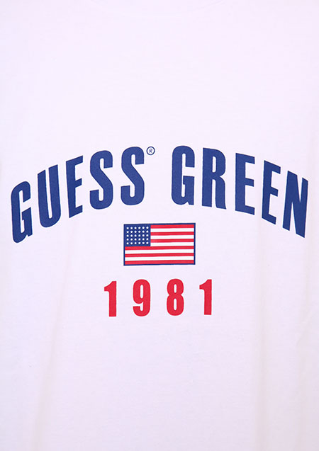 GUESS GREEN 1981 TEE