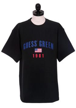 GUESS GREEN 1981 TEE