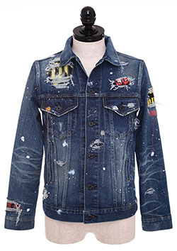 THIRD DENIM JACKET ROCKSTAR