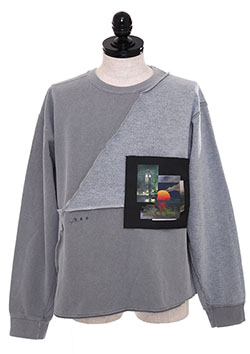 RECONNECTED PATCH SWEATSHIRT