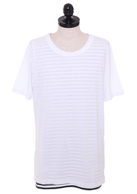 LOOSE LAYERED TEE
