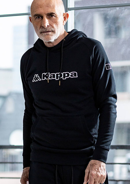 PULLOVER HOODIES KAPPA LOGO EMBROIDERED