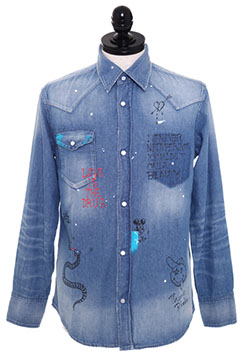 DENIM SHIRT ONEMADE