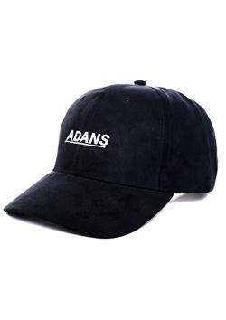SUEDE LOGO CAP