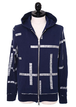 x 誉田屋源兵衛 YABUREKOUSI SWEAT PARKA