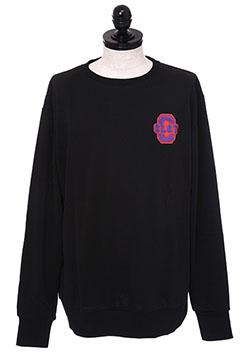 CLOT APPLIQUE CREWNECK SWEAT■