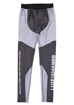 x BROWN BUNNY BLACK SENSE LIMITED GYMCITY LEGGINGS