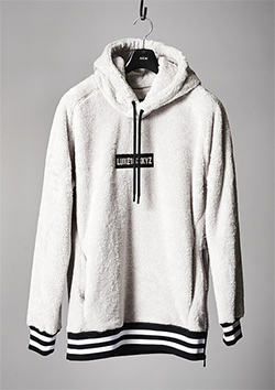 FLEECE HOODED PARKA