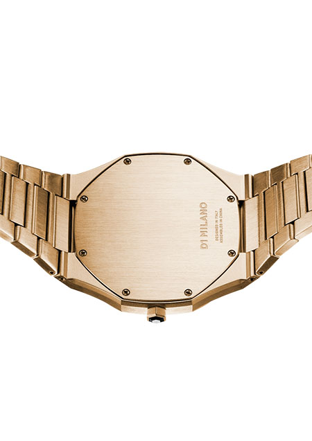 ULTRA THIN GOLD CASE WITH GOLD BRACELET
