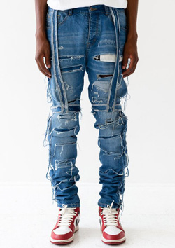 INDIGO CO 04 THRASHER DENIM