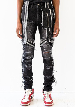 BLACK CO 04 THRASHER DENIM