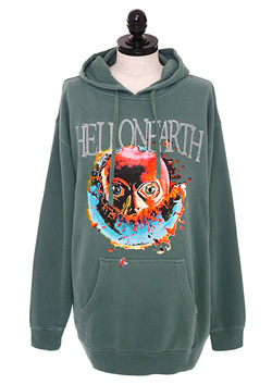 HELL ON EARTH JERSEY HOODIE