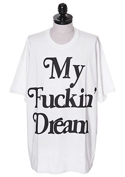 CREW NECK BIG T-SHIRTS (BIG My Fuckin Dream)