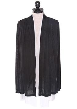 Mesh Layered Cardigan