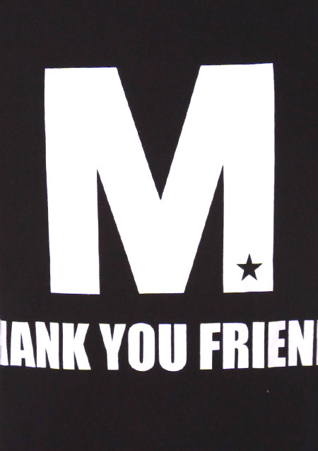 CREW NECK T-SHIRTS (M THANK YOU FRIENDS)