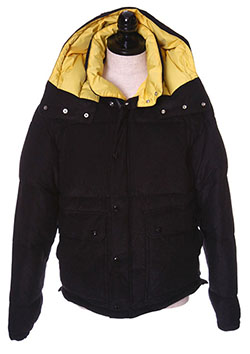 FRENCH PILE APPEN DOWN JACKET