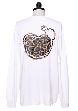 LONG SLEEVE T-SHIRT (LEOPARD LOGO)