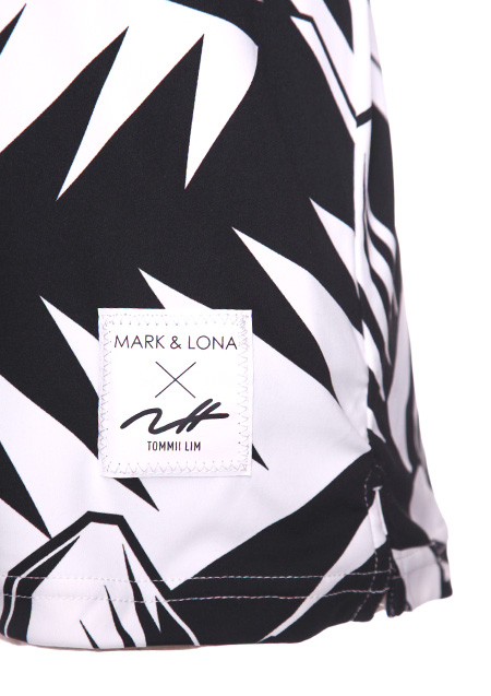 MARK&LONA x Tommii Lim POLO グラフィックプリント ポロシャツ