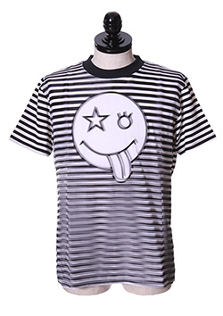 STRIPED 3D T-SHIRT
