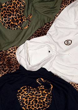 PULLOVER HOODIE (LEOPARD LOGO)