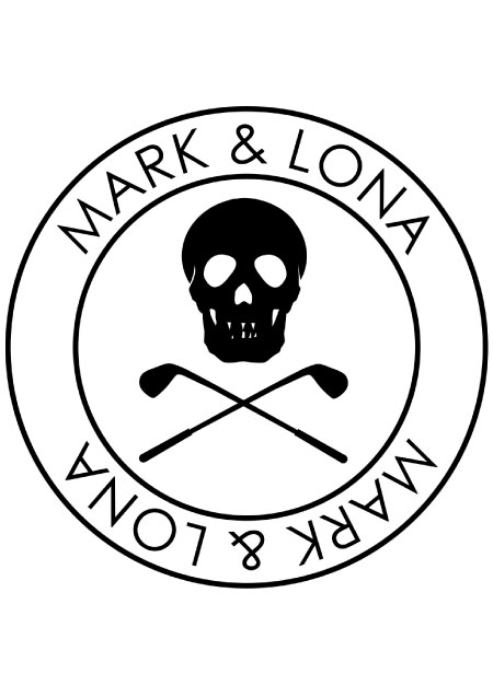 MARK&LONA Golf Or Die Travel Cover - BLACK