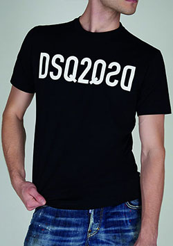 DSQUARED2 GC - T-Shirt Black