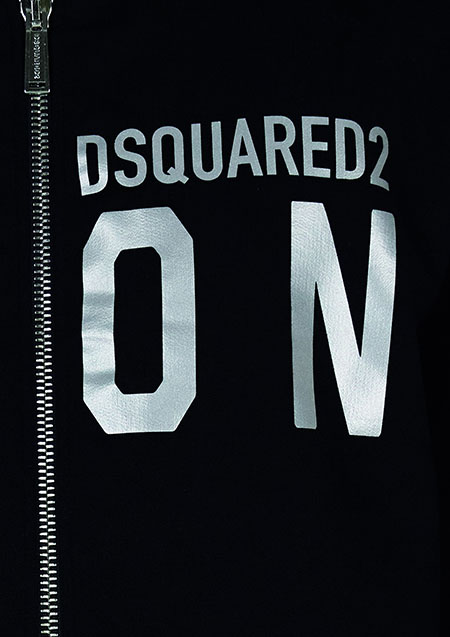 DSQUARED2 ICON ZIP REFRACTIVE PARKA