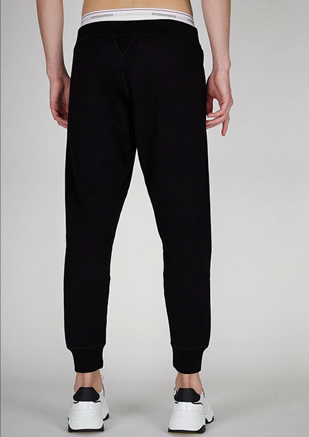 DSQUARED2 ICON SWEAT REFRACTIVE PANTS