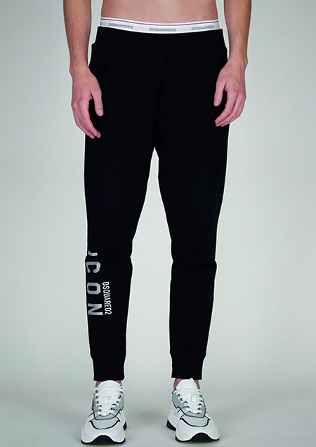 DSQUARED2 ICON SWEAT REFRACTIVE PANTS 2