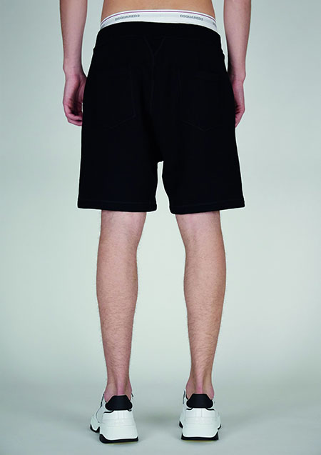 DSQUARED2 ICON SWEAT SHORTS