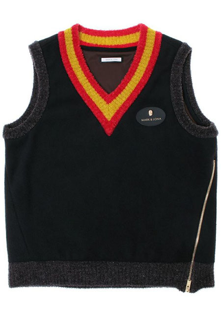 【メンズ】Robertson Knit Vest black| MEN
