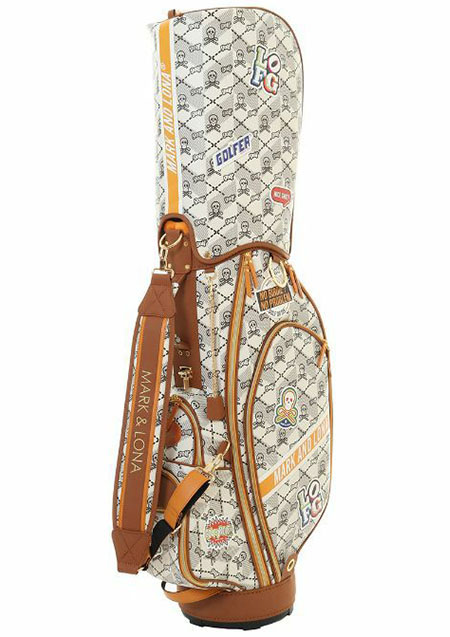 MARK&LONA Whatnot Golf Bag - BEIGE