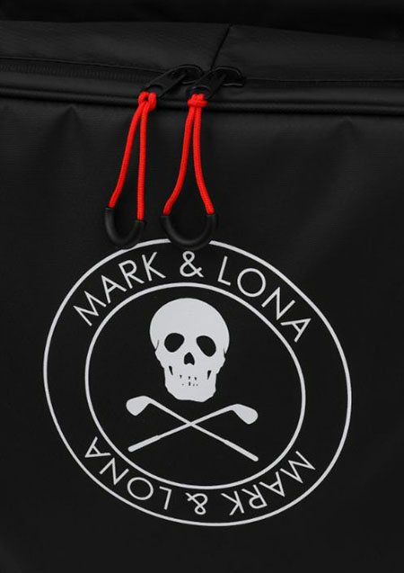 MARK&LONA Golf Or Die Travel Cover - BLACK