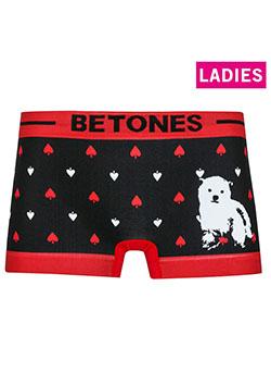 BETONES LADIES ANIMAL4 RED