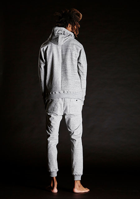 113 RONE Grazy Gray Sweat RIB PT