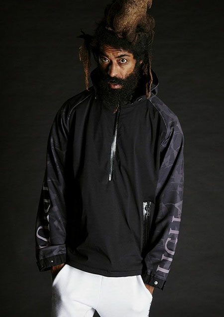 113SPORTS PULLOVER ANORAK PARKER