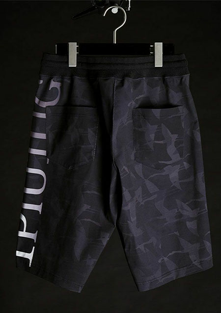 113SPORTS CAMO LUXURY TRAINING SHORTS