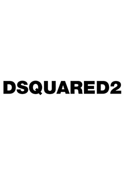 DSQUARED2 WAPPEND PULLOVER HOODIE - 100WHITE